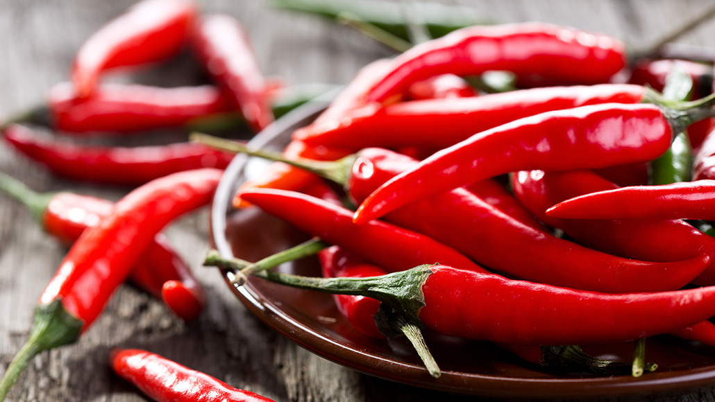 A new portable device can reveal a chili pepper's heat